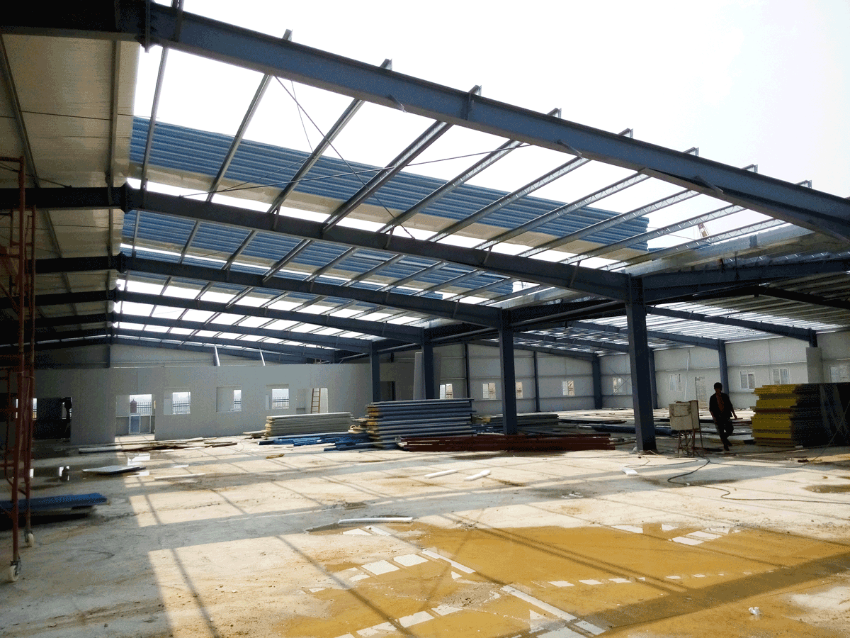 Steel Structure Warehouse in mainland China